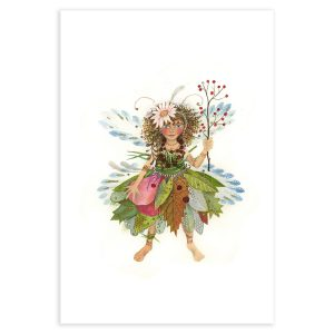 Little Fairy from The Dolls' House Fairy in mixed media by Jane Ray