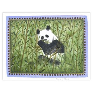 The Panda's Tale, Mixed Media by Jane Ray