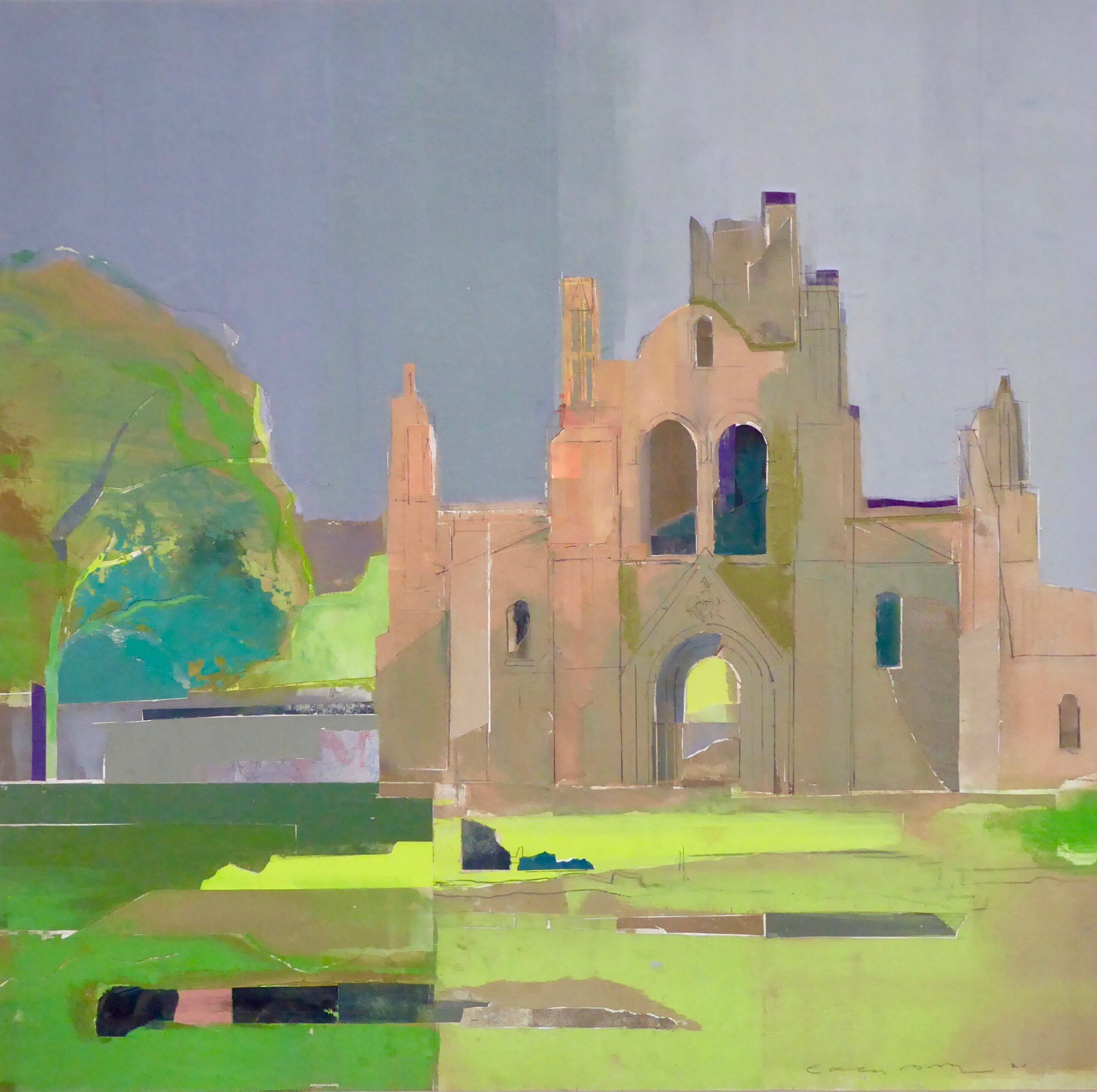 Kirstall Abbey by Colin Black