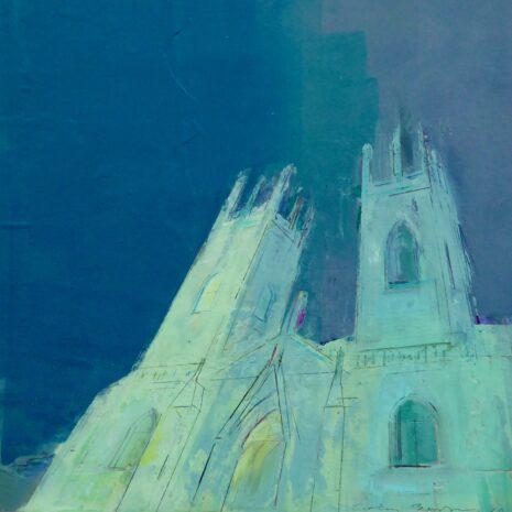 York MInster Floodlit by Colin Black