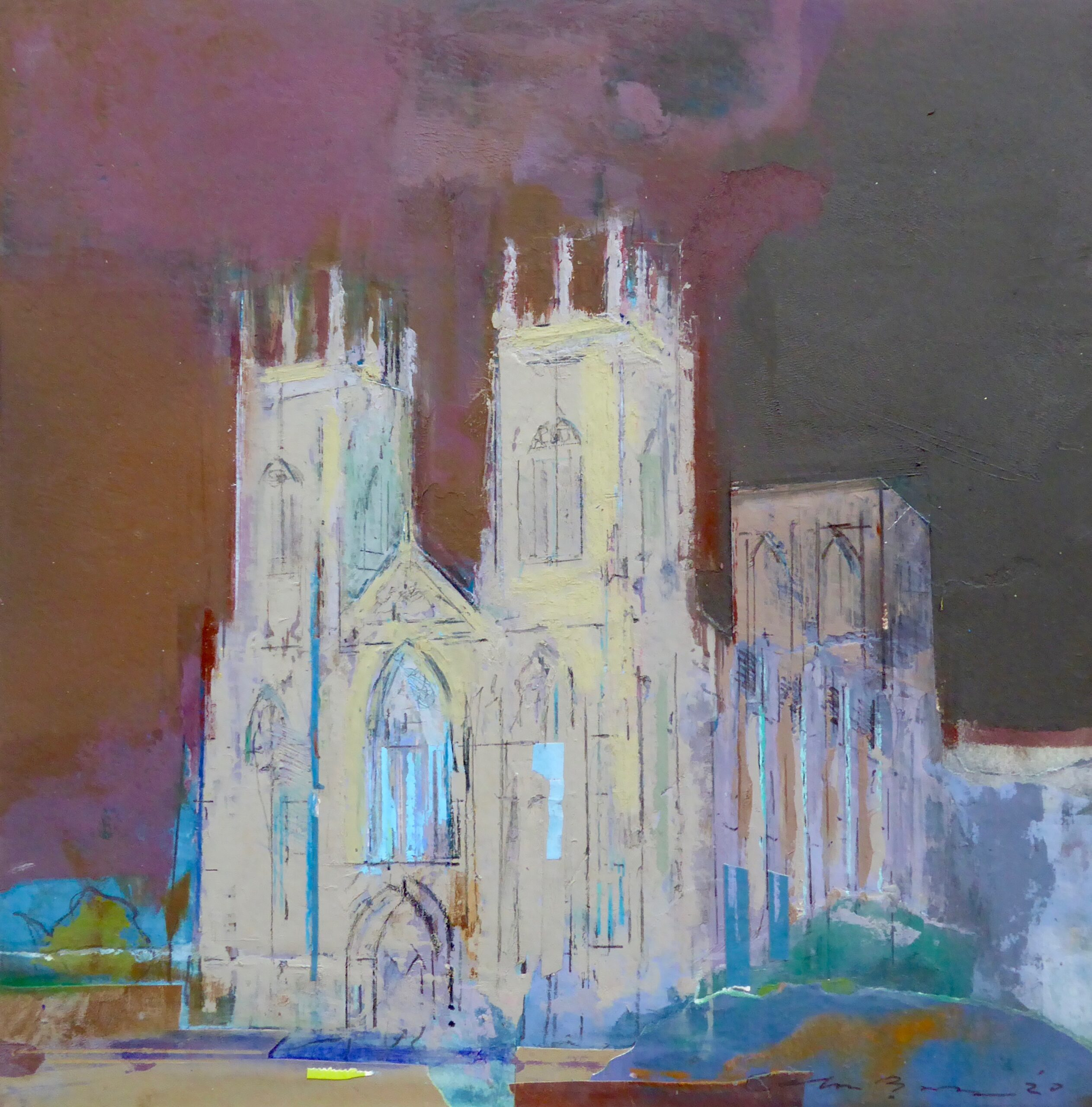 York Minster Vigilia by Colin Black
