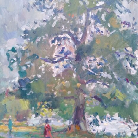 Early Autumn Oil Painting Andrew Farmer