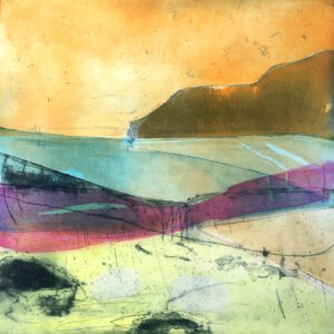 Distant Shores Print Louise Davies