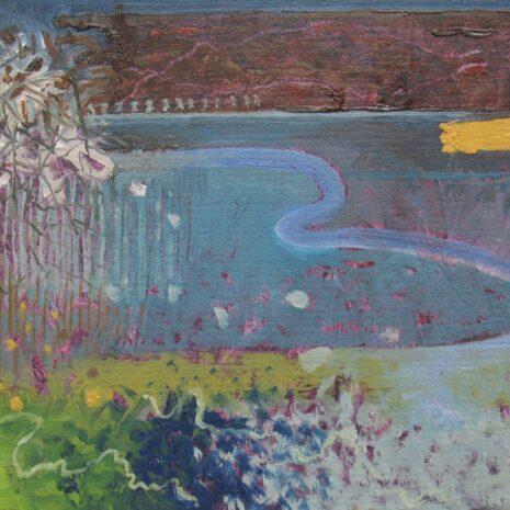 Estuary, Oil on Board, Rob Moore